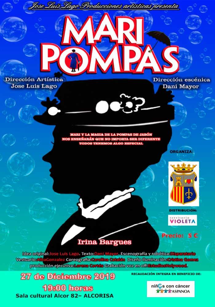 Mari Pompas - Espectáculo infantil en Alcorisa