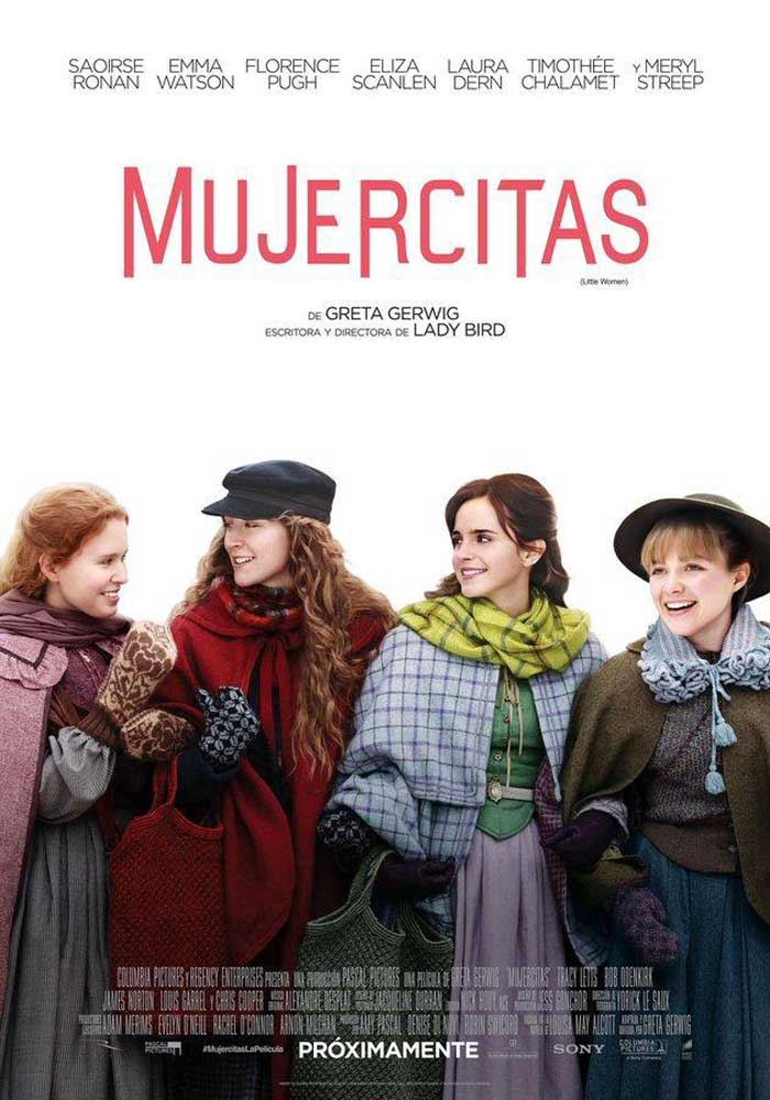 Cartelera en Alcañiz: Mujercitas
