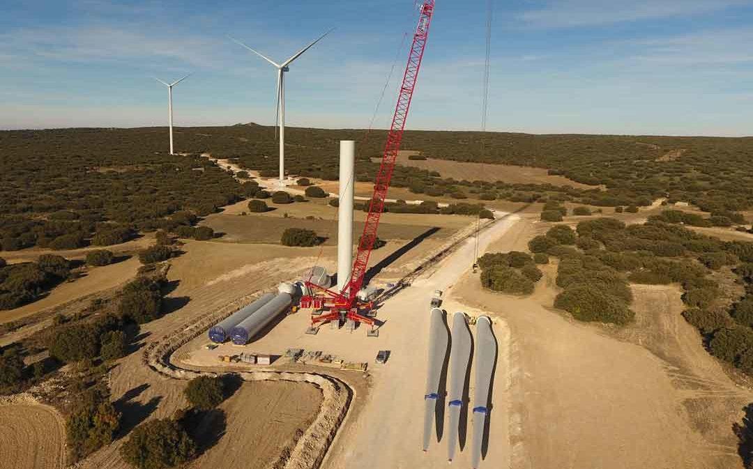 Endesa conecta 5 parques eólicos en Teruel con una inversión de 165 millones de euros