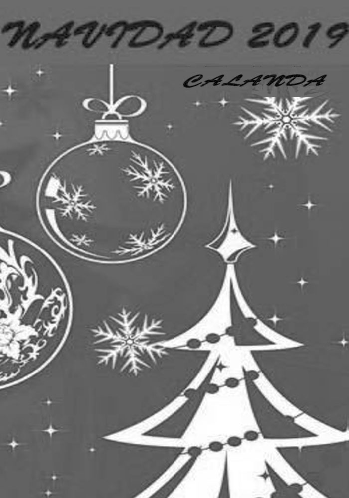 Programa de actividades de Navidad de Calanda