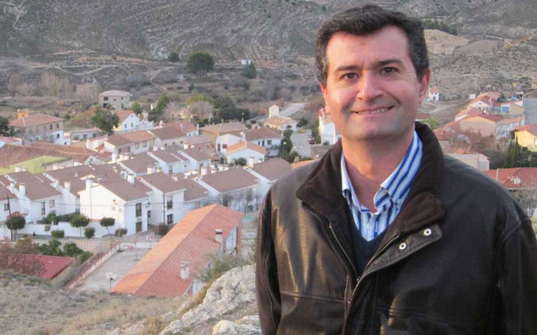 El alcalde de Ariño, Joaquín Noé