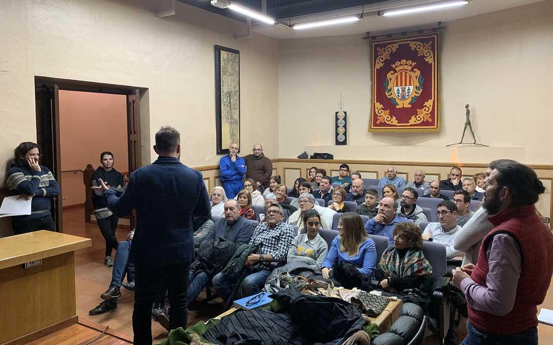 Presentación de la Concordia de Alcañiz de 2020 el miércoles en el Salón de Plenos alcañizano / Ayto. Alcañiz