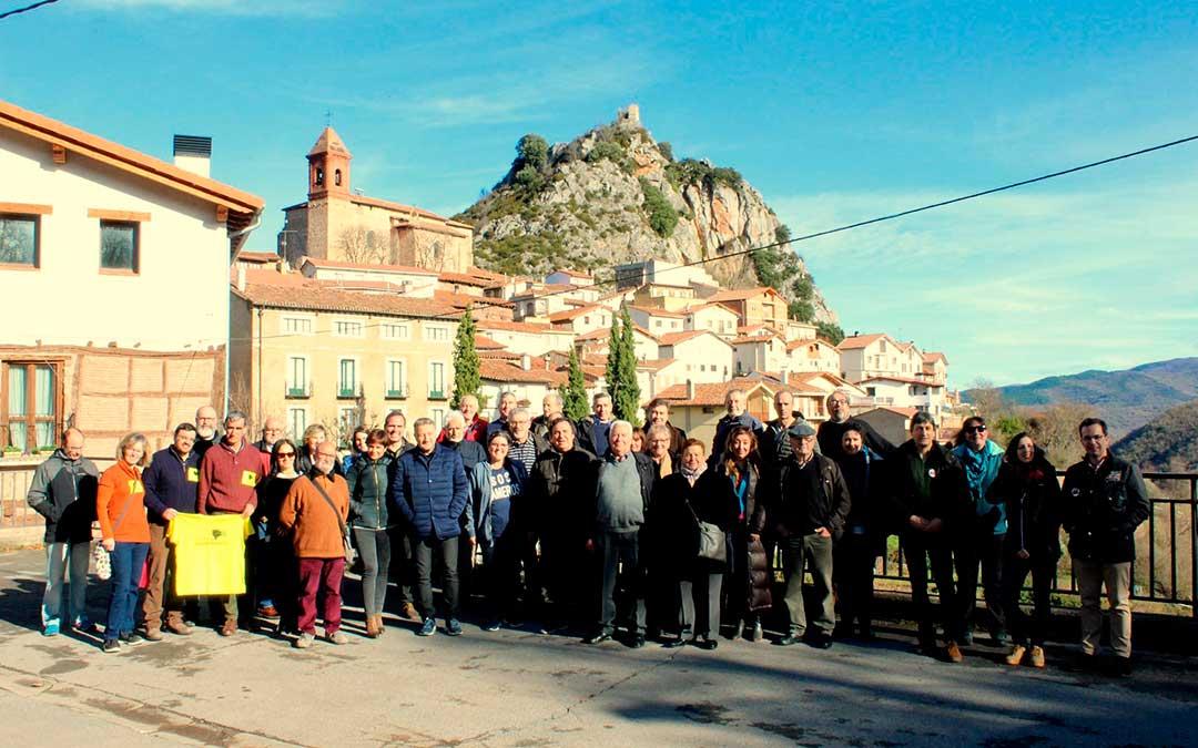 Representantes de algunas de las plataformas en La Rioja.