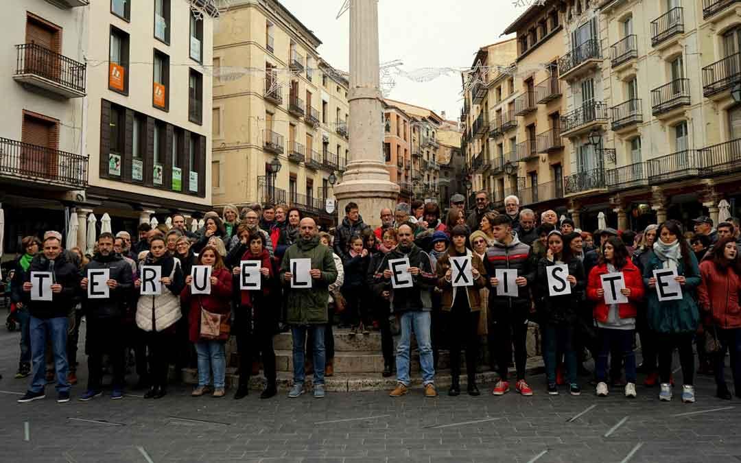 Teruel Existe este domingo en la plaza del Torico