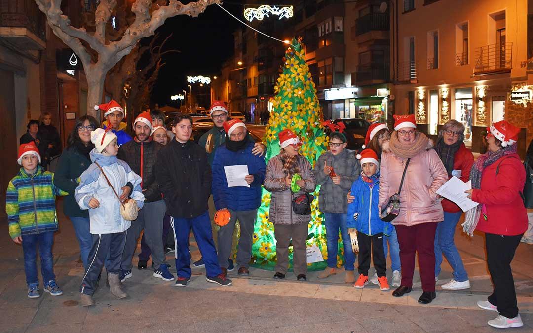Participantes de la ronda de villancicos del PRIS.