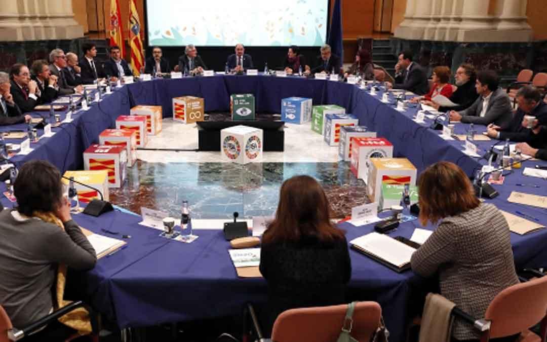 Lambán preside este martes el Consejo Aragonés del Clima.