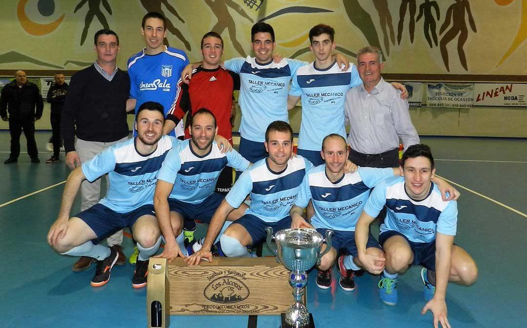 Este fin de semana se disputan en Alcorisa las 24 horas de fútbol sala