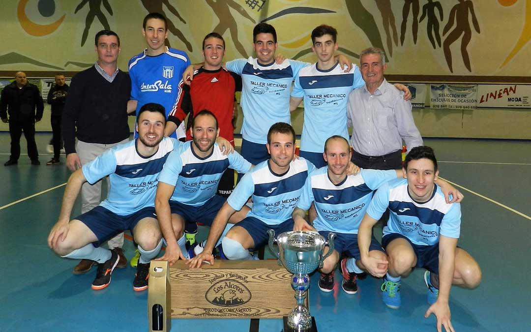 El equipo ganador de la edición que se disputó el pasado año