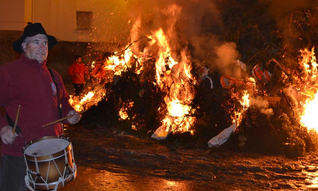 La Codoñera vive sus fiestas de invierno en honor a San Valero y San Antón