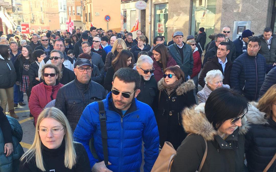 Manifestación en Andorra el pasado 11 de enero.