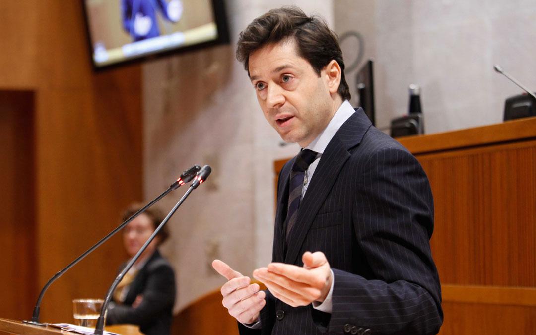 El diputado del PP, Sebastián Contín./LA COMARCA