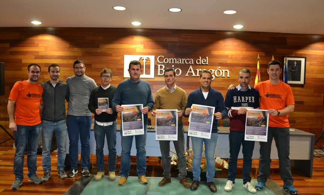 La presentación del calendario de carreras de montaña ha tenido lugar en la sede de la comarca del Bajo Aragón