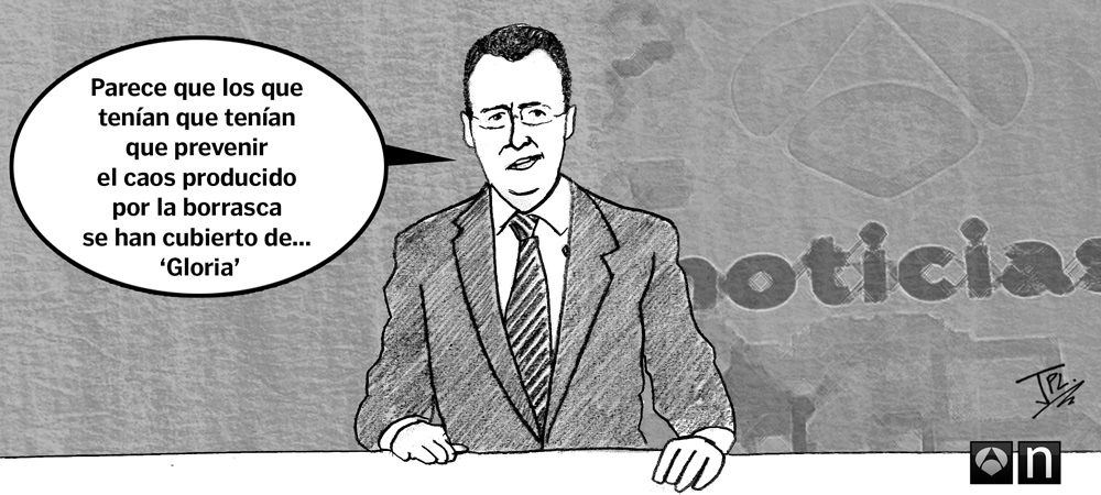 Humor gráfico - Borrasca Gloria - Matías Prats