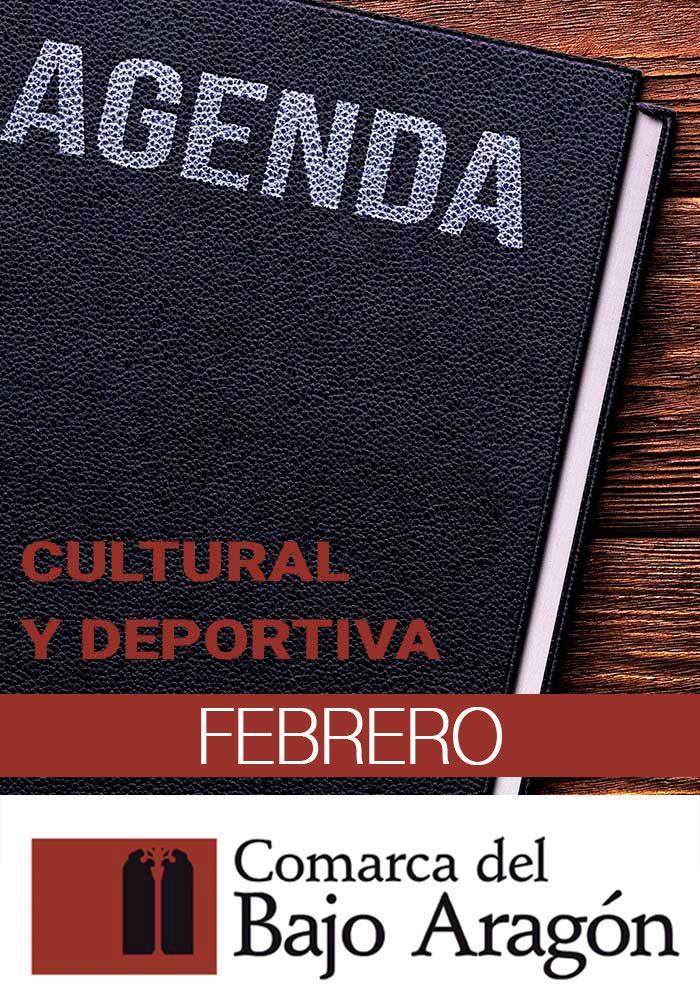 Agenda de la Comarca del Bajo Aragón del 30 de enero al 9 de febrero