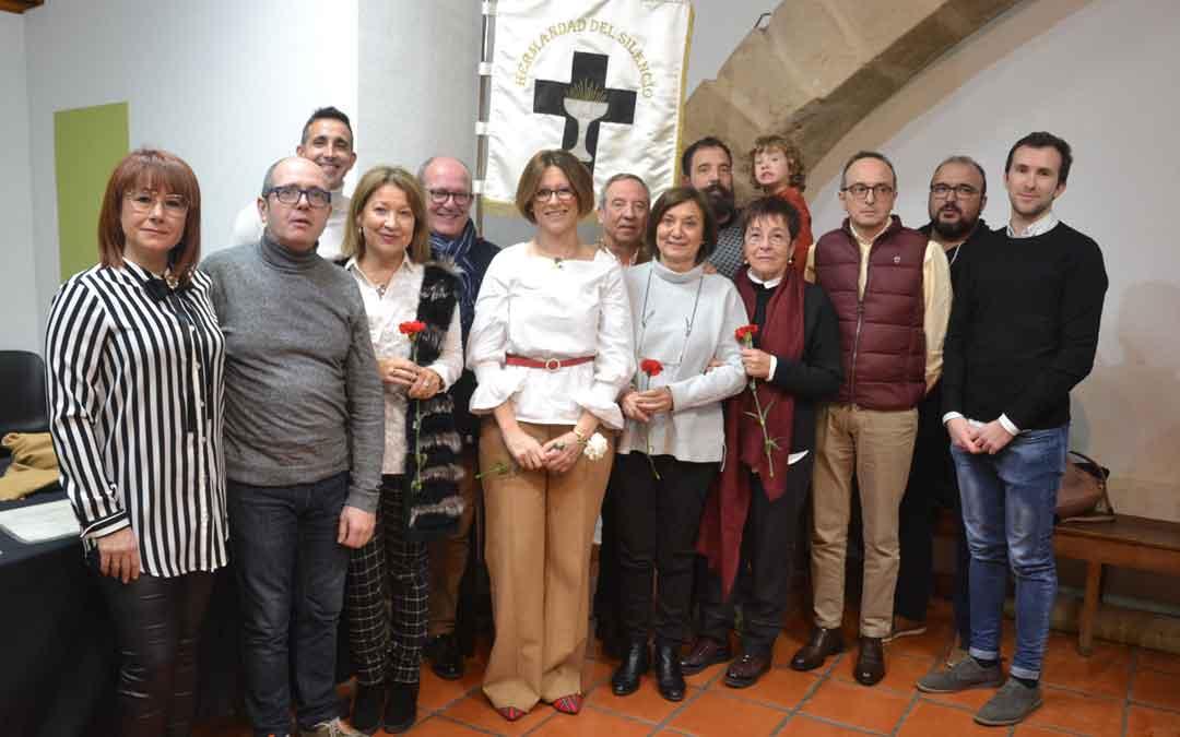 La junta del Silencio y parte de la familia Maldonado el sábado.