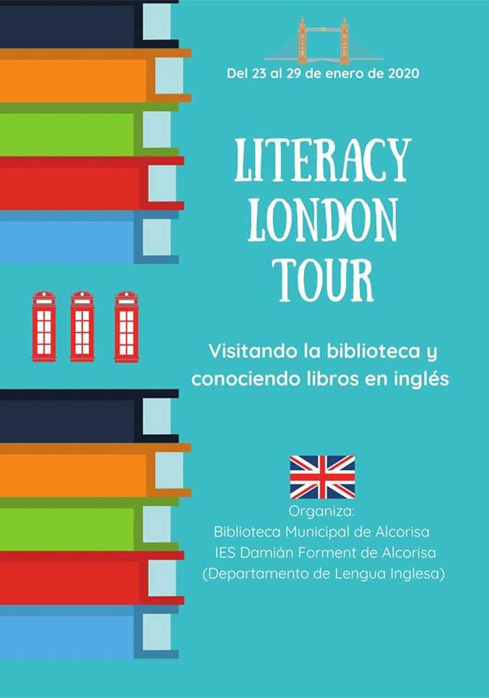 Animación lectora en inglés en Alcorisa