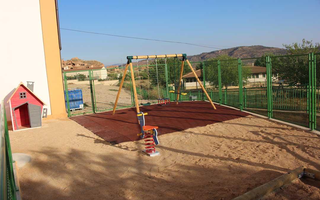 Instalaciones de la escuela infantil que reabrió este curso. / Eduard Peralta