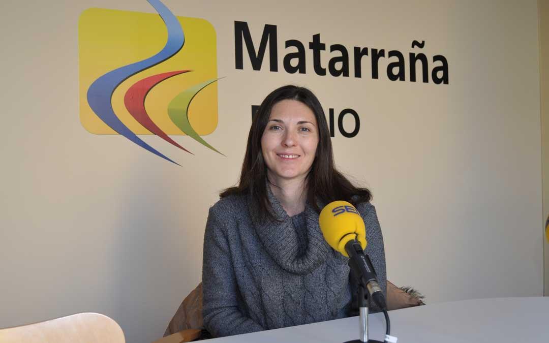 Ana Belén Molinos, una de las integrantes de los Mayordomos de San Antón de Valderrobres.