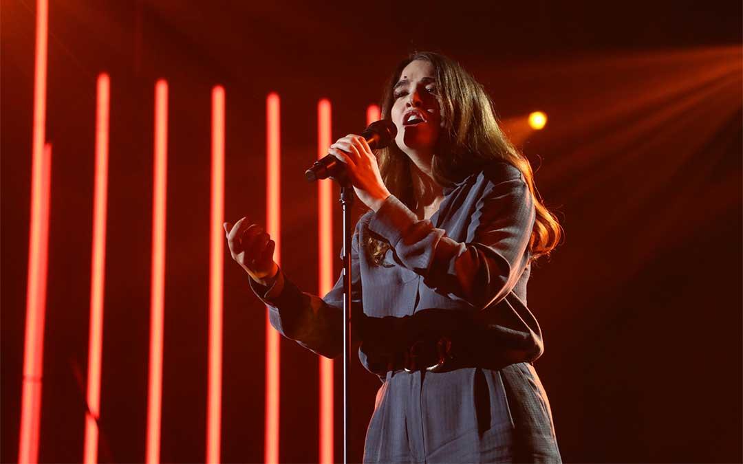 Ana Julieta interpretó el tema 'Catalina' en la Gala 0 de OT 2020./ José Irún