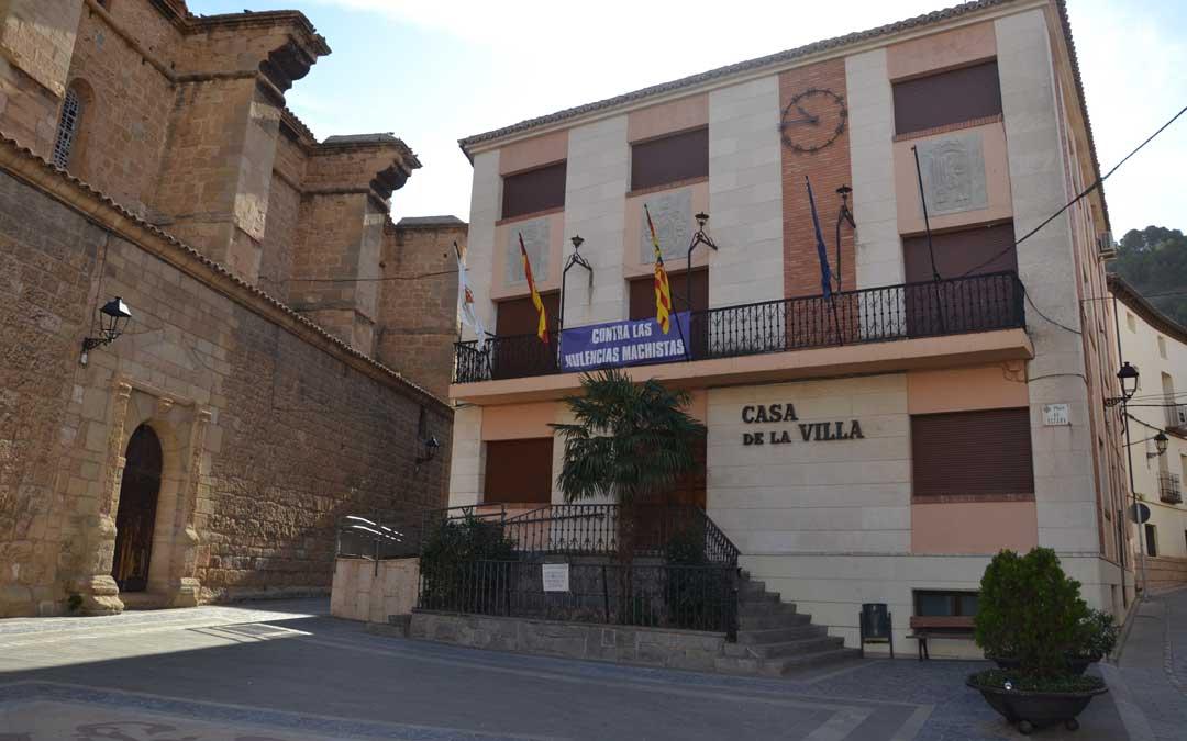 Imagen de archivo de la plaza del Ayuntamiento de Andorra. / La COMARCA