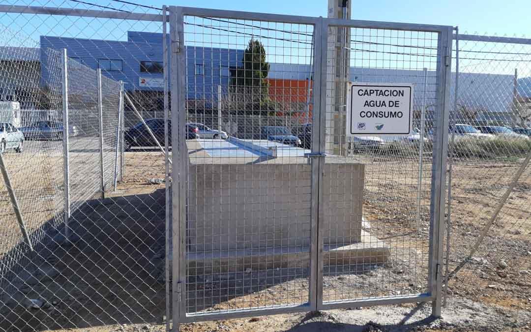 La captación de agua en el pozo de la Estación está en funcionamiento. / Ayto. Andorra