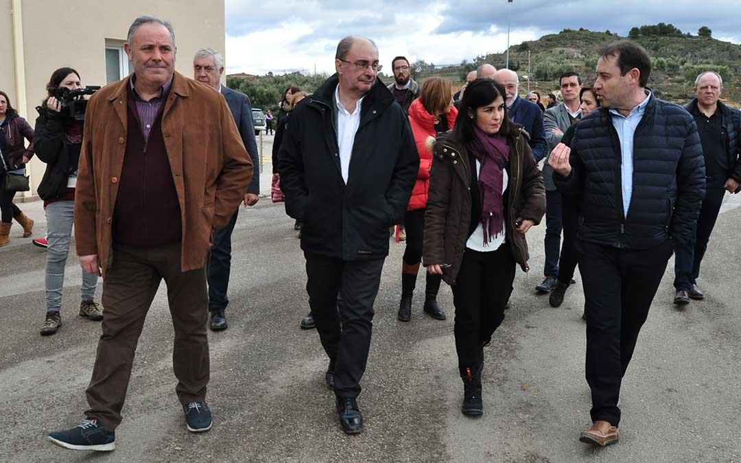 El Director de Grupo Arcoiris, Juan José Moles y el Presidente del grupo, Delfín Albesa, manifestaron su preocupación a la ministra.