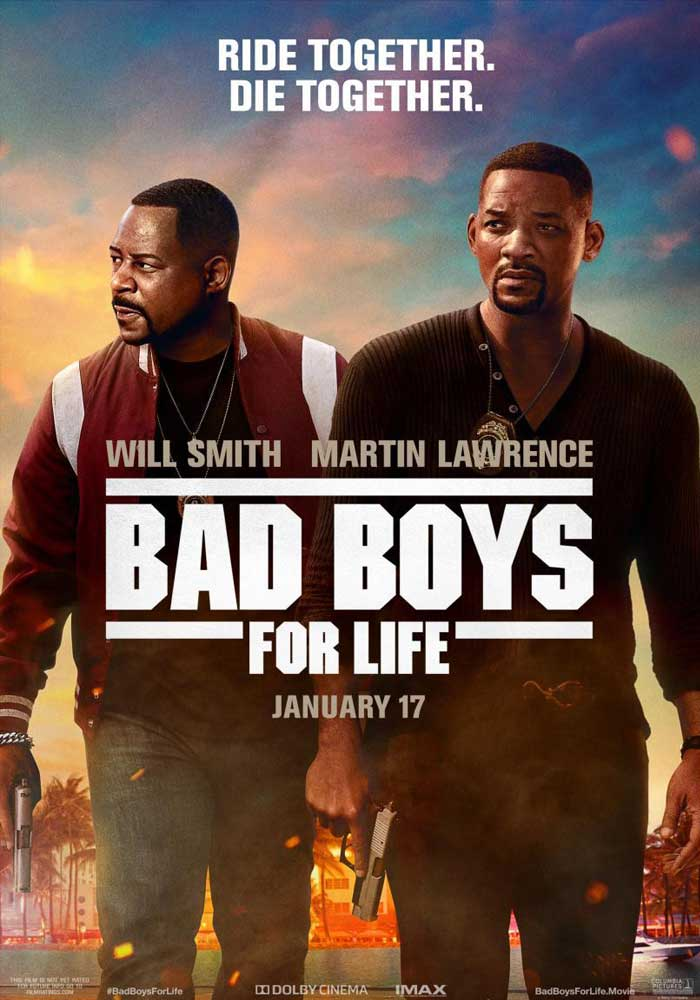 Cartelera en Caspe: Bad boys for life