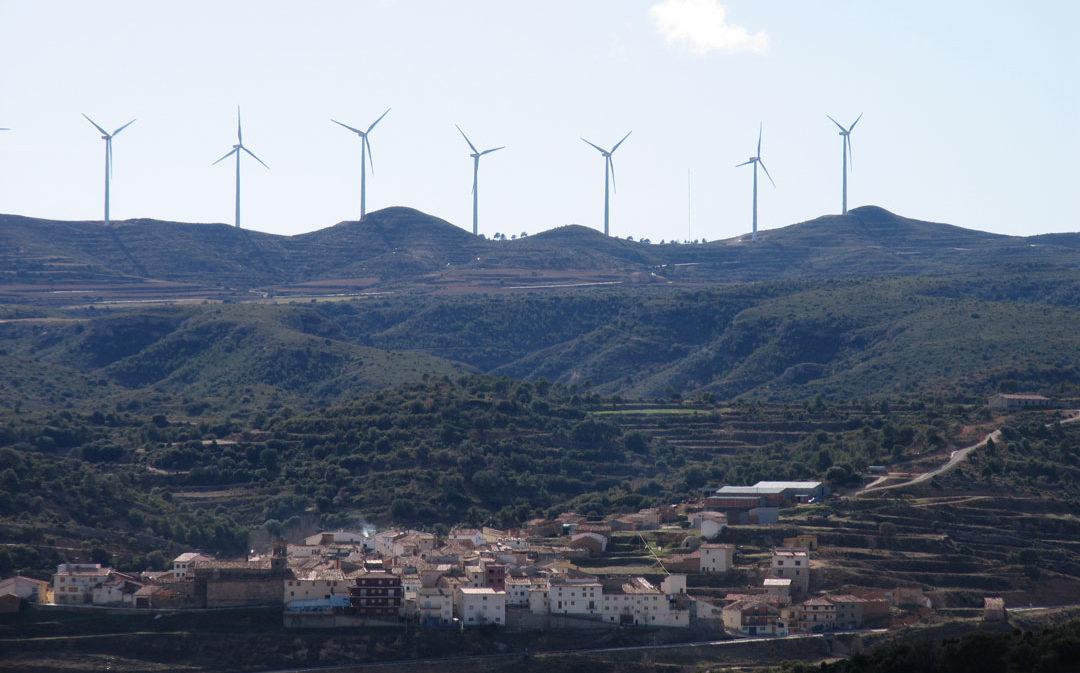 La Asociación Viento Alto en el Maestrazgo defiende las energías renovables para favorecer el empleo