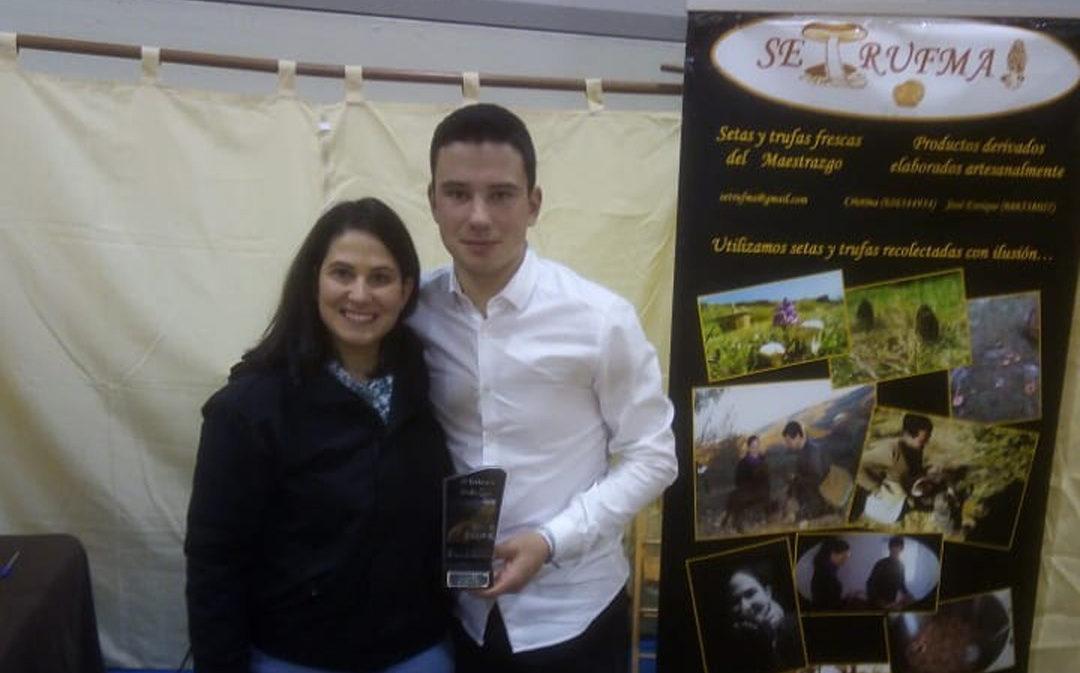Premio para un ejemplar de trufa recolectado en Cantavieja
