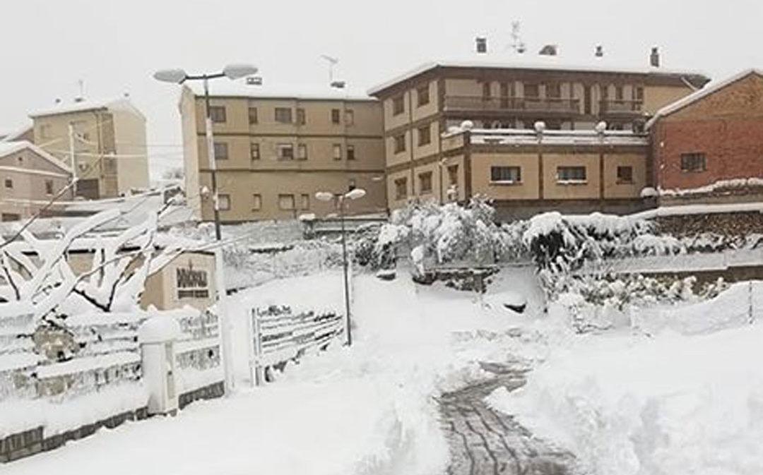 Preocupación por los barrios de Castellote, incomunicados desde el domingo
