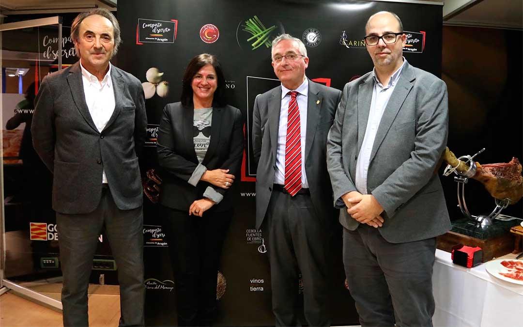 La Asociación de Productores de Cerdo de Teruel en Madrid Fusión 2020.