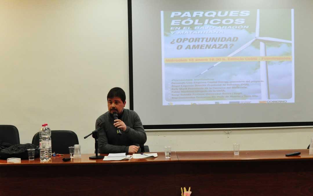 El director general de ordenación del territorio fue uno de los ponentes en Fuentespalda.