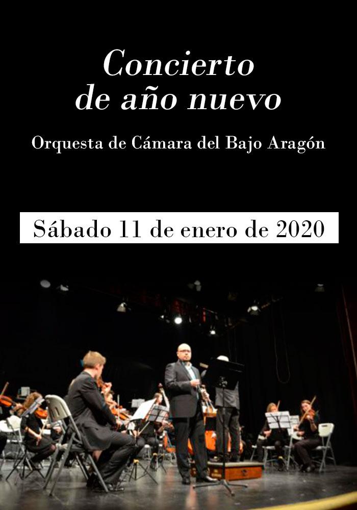 Concierto de año nuevo de la OCBA en Alcañiz