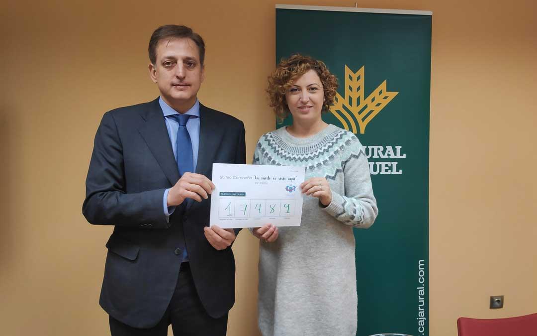 Este jueves se ha sorteado de nuevo la campaña de la Asociación de Comerciantes con Caja Rural de Teruel