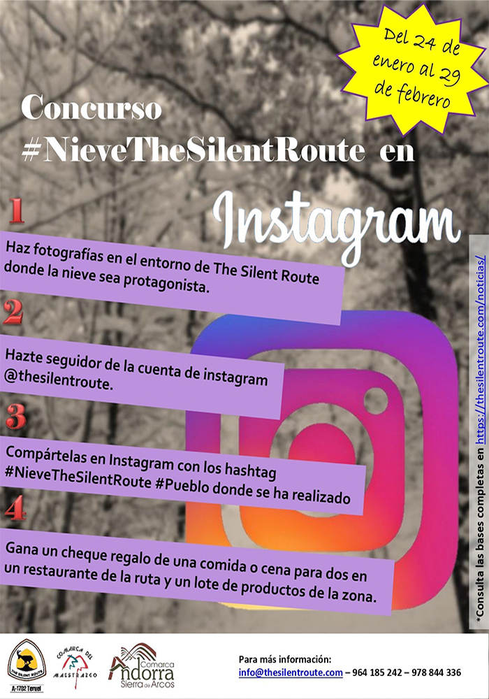 "Concurso ""Nieve en The Silent Route"""