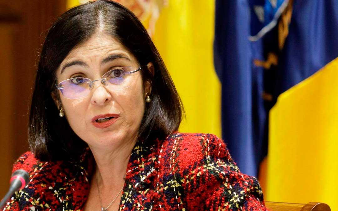 Ministra de política territorial Carolina Darias