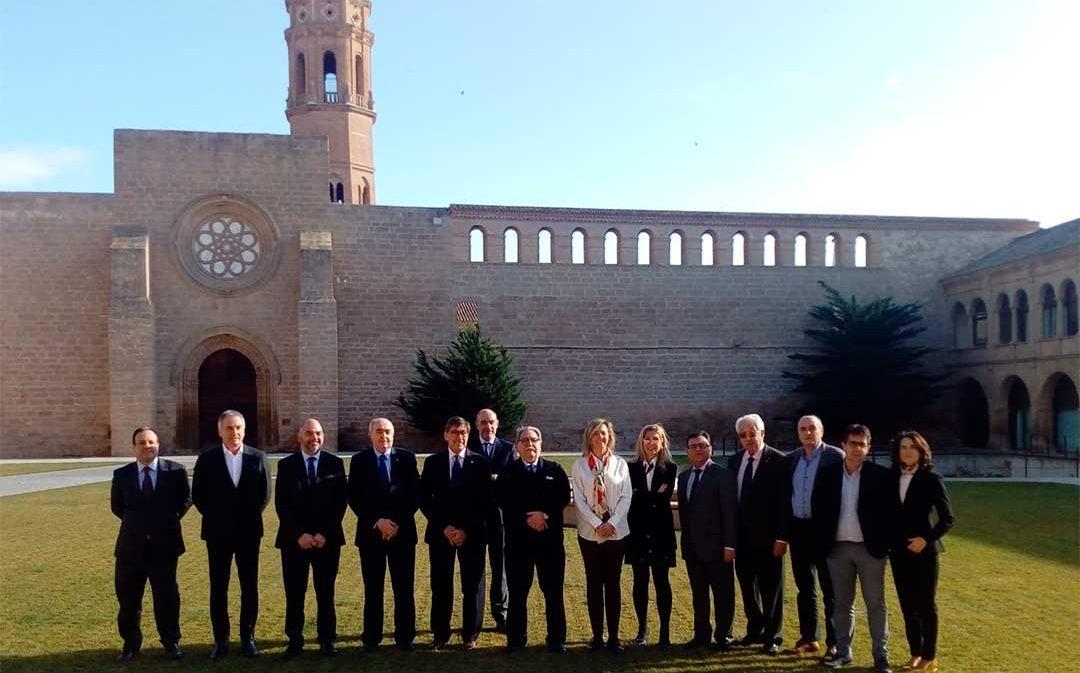Las Cámaras aragonesas recuerdan al nuevo Gobierno los compromisos adquiridos con la comunidad