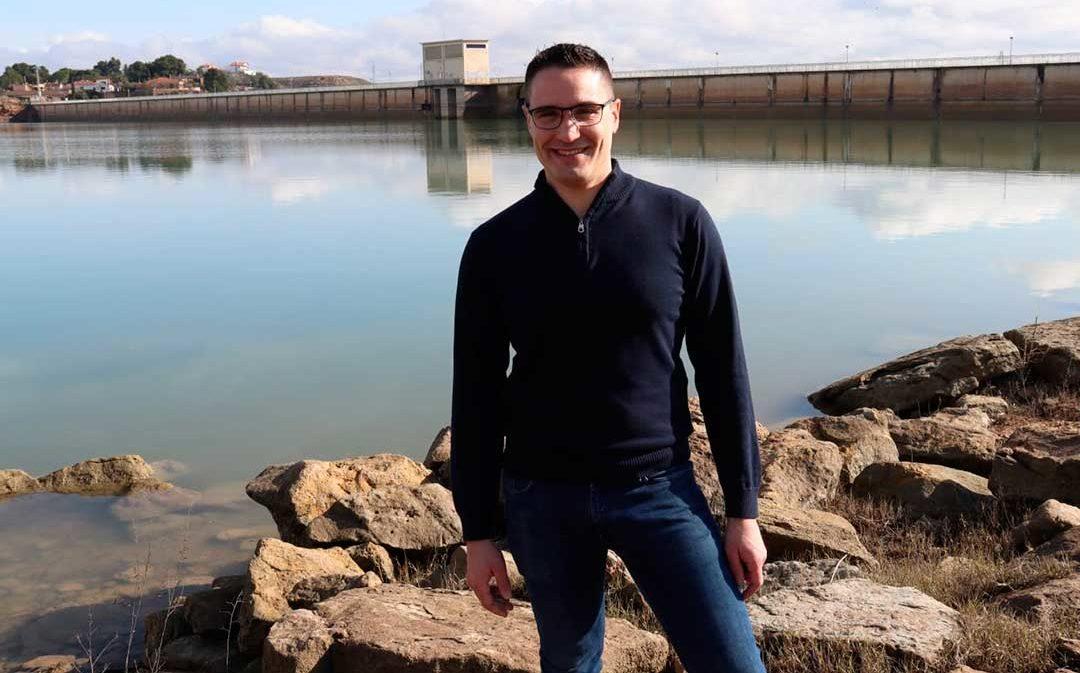 Cs Caspe pide la intervención en la A-230 para habilitar un paseo hasta el Mar de Aragón