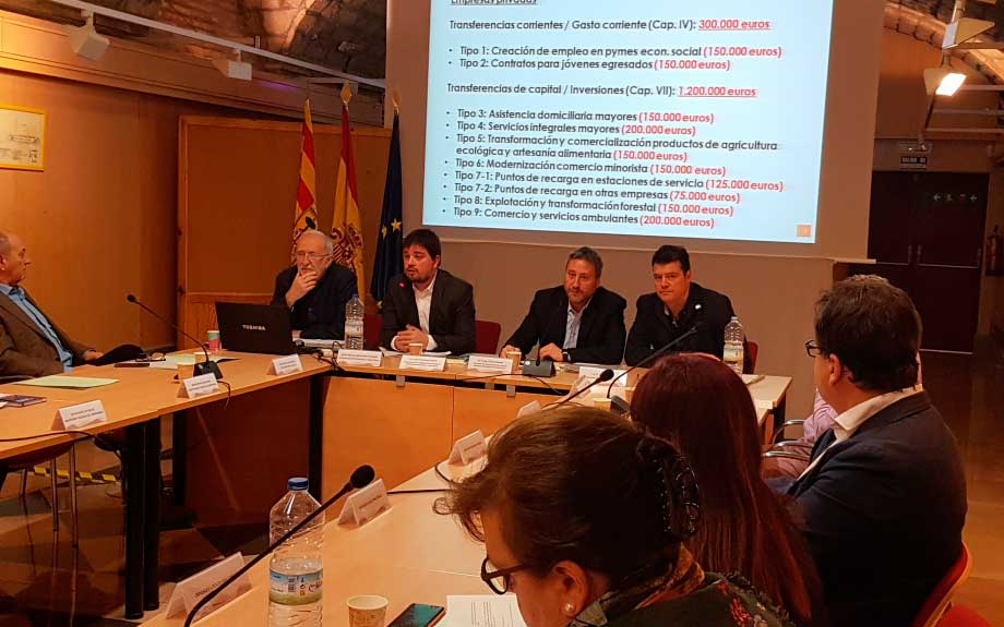 "DGA destina 3 millones de euros a ""microcirugía"" contra la despoblación"
