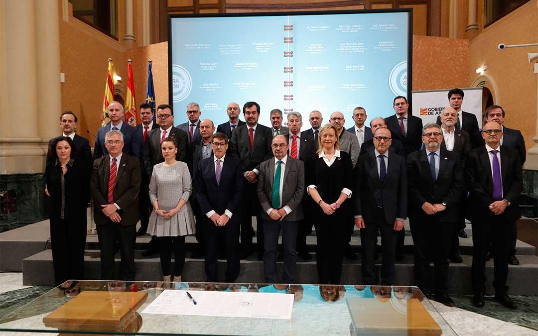 Presentación de la estrategia económica Aragón Circular./ DGA