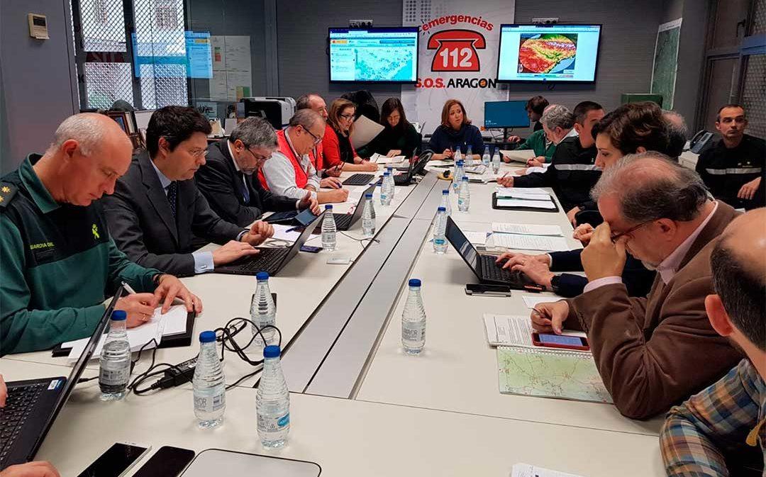 El Gobierno de Aragón rebaja a Nivel 1 la emergencia por el paso de la borrasca Gloria