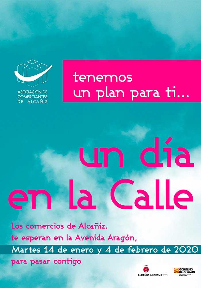 """""""Un día en la calle"""" en Alcañiz"""