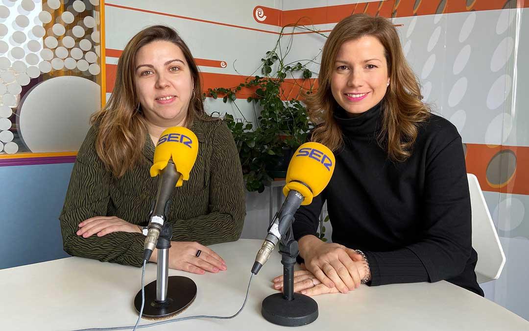 María Ariño y Eva Defior./ A.M.