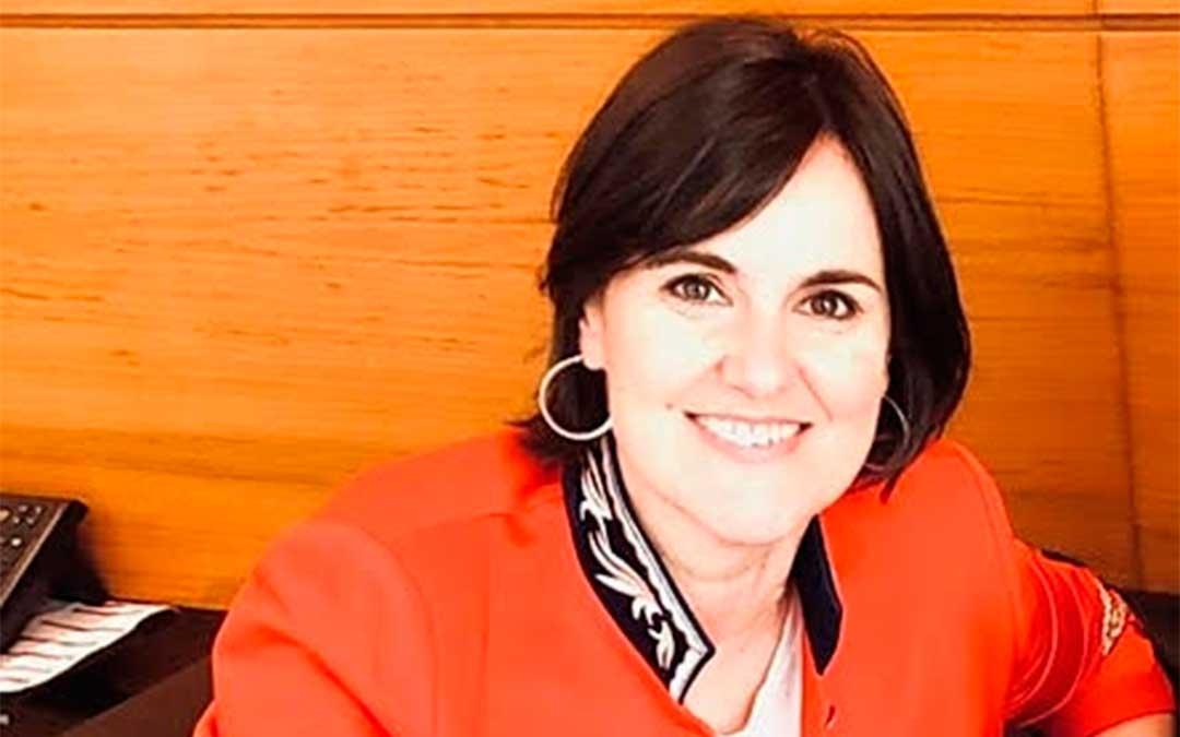 Elena Allué, Directora General de Turismo del Gobierno de Aragón.