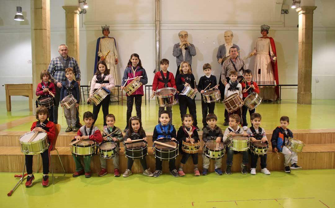 Comienza la Escuela de los Amigos del Tambor de Alcañiz