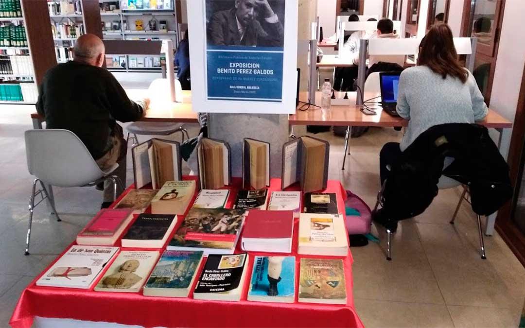 Exposición sobre Benito Pérez Galdós./ Biblioteca de Andorra