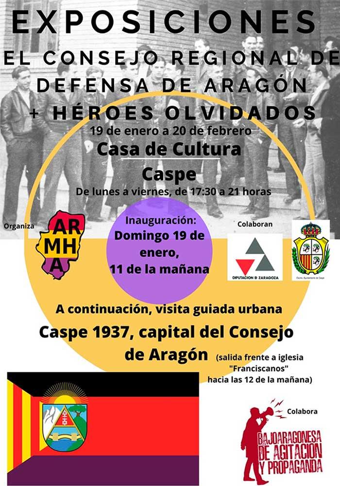 Exposición sobre El Consejo de Defensa de Aragón en Caspe