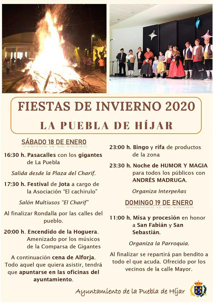 Fiestas de invierno de La Puebla de Híjar