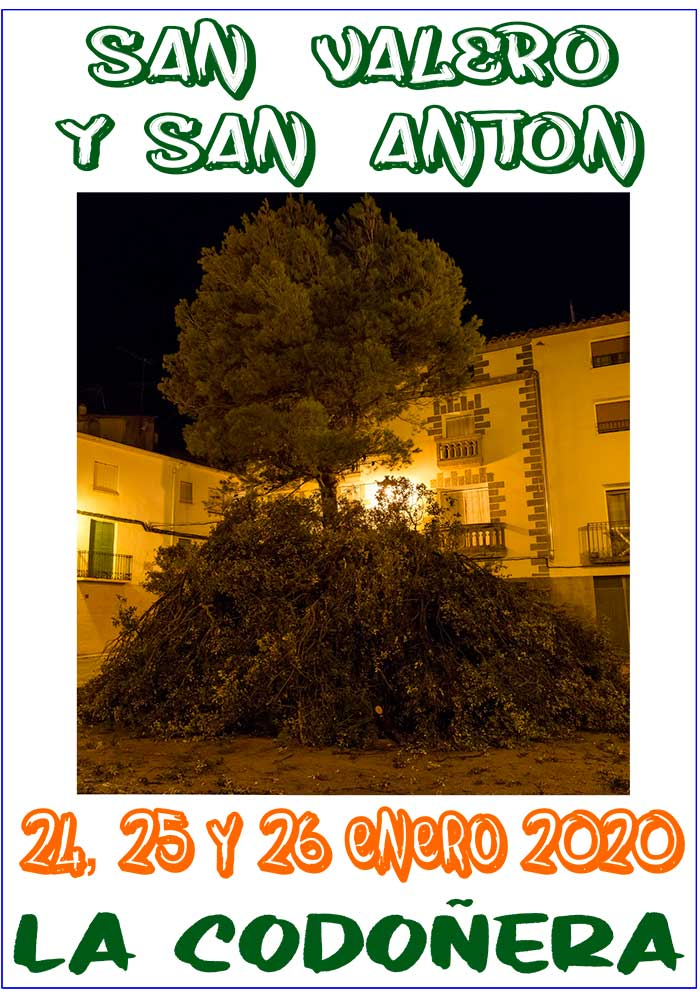 San Valero y San Antón en La Codoñera