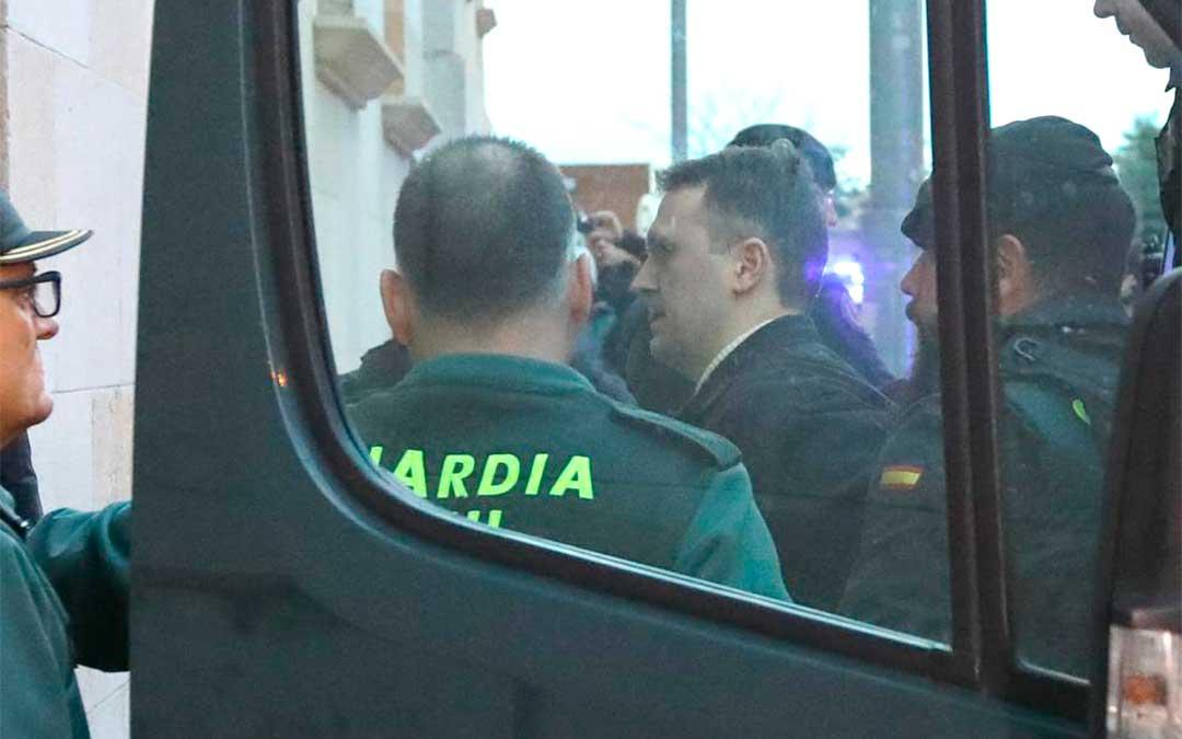 Igor el Ruso, llega a los juzgados entre fuertes medidas de seguridad | Javier Escriche